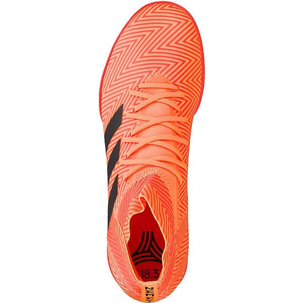 orange Design im Fußballschuhe schwarz Messi DA9622 TF Performance Nemeziz 18 adidas Messi 3 qaPwn8R