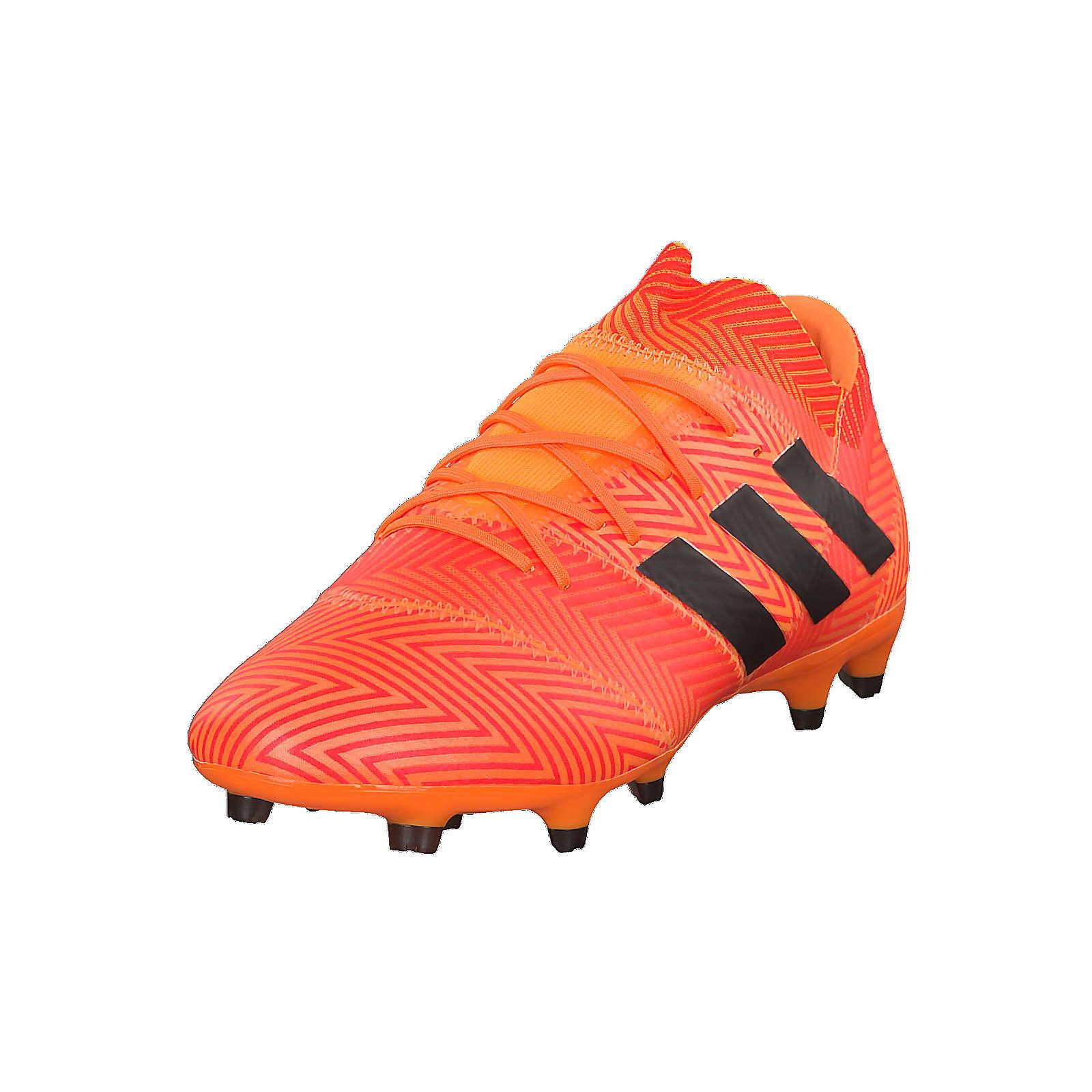 adidas Performance Fußballschuhe NEMEZIZ 18.2 FG DA9580 mit innovativer Stollenkonfiguration Sportschuhe orange Herren Gr. 46 2/3