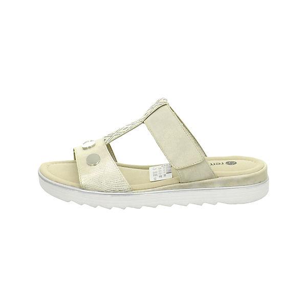 remonte, Pantoletten, beige  beliebte Gute Qualität beliebte  Schuhe d4b9c4