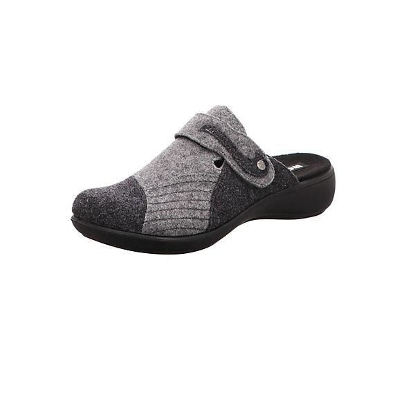 Pantoffeln ROMIKA ROMIKA Pantoffeln ROMIKA grau grau grau Pantoffeln ROMIKA Pantoffeln 676BWqF