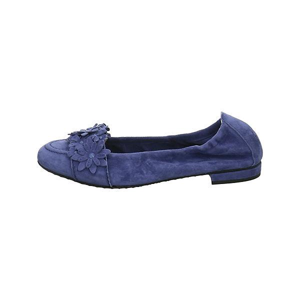 Kennel &  Schmenger Faltbare Ballerinas blau  & Gute Qualität beliebte Schuhe f4b5fb