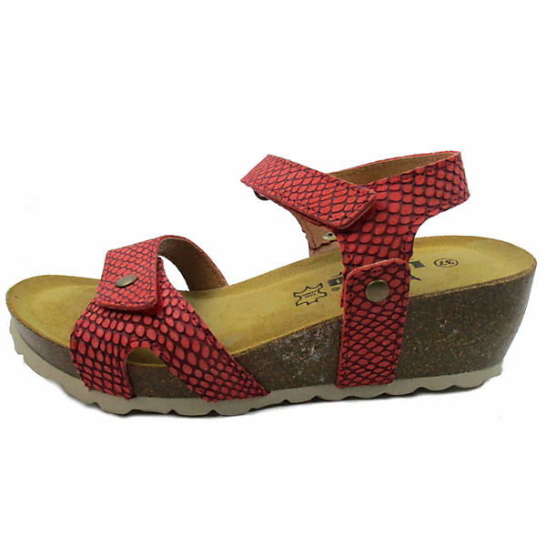 Longo, Komfort-Sandalen, rot     15acef