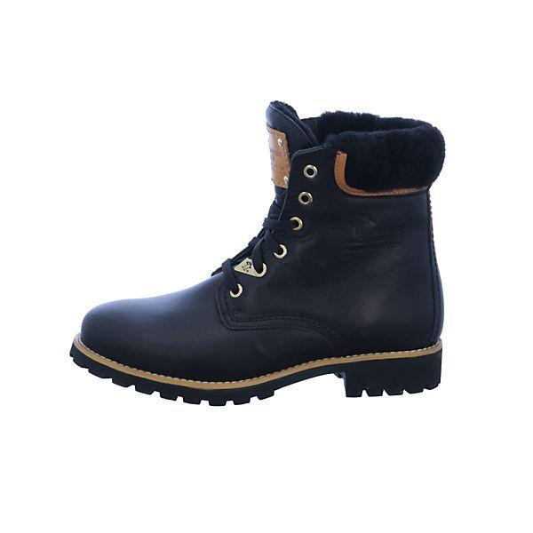 PANAMA JACK, Schnürstiefeletten, schwarz  Gute Qualität beliebte Schuhe