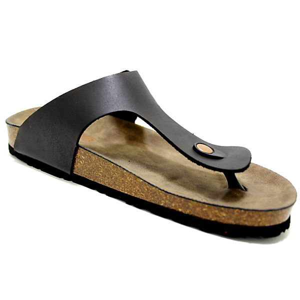 ROMIKA, Zehentrenner, beliebte schwarz  Gute Qualität beliebte Zehentrenner, Schuhe c7024c
