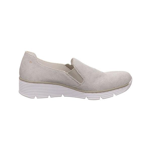 Rieker, Klassische beliebte Slipper, weiß Gute Qualität beliebte Klassische Schuhe 00c4f8