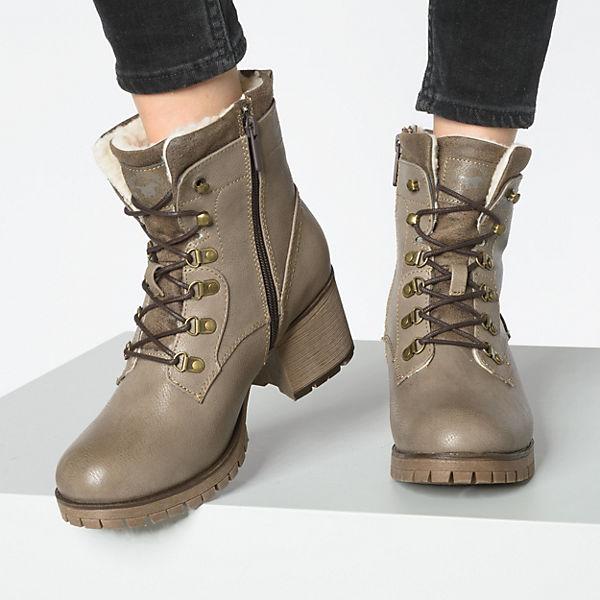 BUFFALO, Klassische Stiefeletten, nude  Gute Qualität beliebte Schuhe