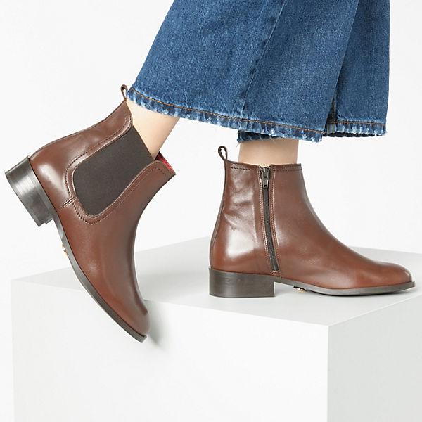 BUFFALO, Klassische Stiefeletten, cognac  Gute Qualität beliebte Schuhe
