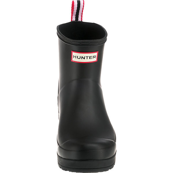 HUNTER BOOT Gummistiefel PLAY SHORT ORIGINAL schwarz U1nH1Aqwa