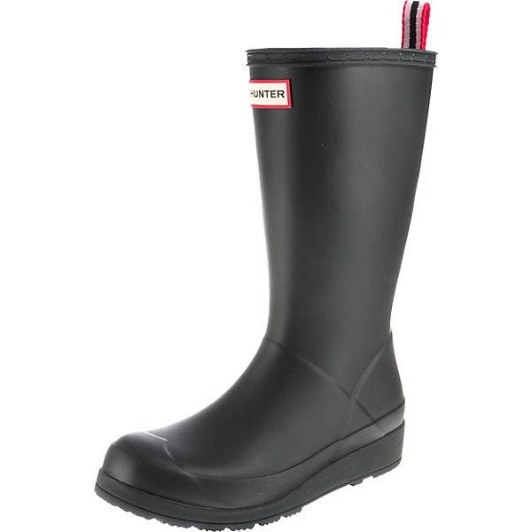 the latest e1f88 d4a4b HUNTER, Play Boot Tall Gummistiefel, schwarz
