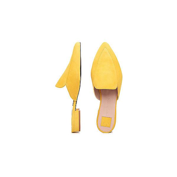 SHOEPASSION, Pantoletten, Pantoletten, Pantoletten, gelb  Gute Qualität beliebte Schuhe 3190c7