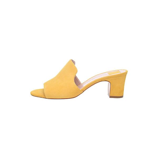 SHOEPASSION, No.  17 WP Pantoletten, gelb  No. Gute Qualität beliebte Schuhe 1ef52d