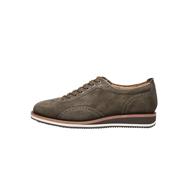 SHOEPASSION khaki Business Schnürschuhe Business khaki SHOEPASSION Business Schnürschuhe Schnürschuhe SHOEPASSION wvOSqSTtx