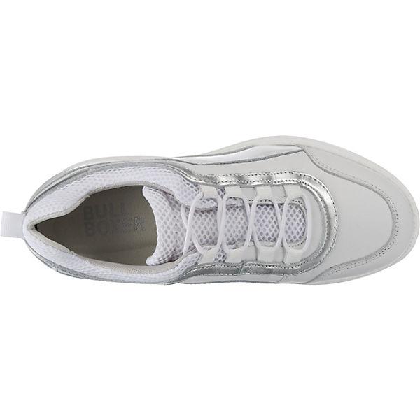 BULLBOXER, Sneakers Low, weiß beliebte  Gute Qualität beliebte weiß Schuhe 1c5f57