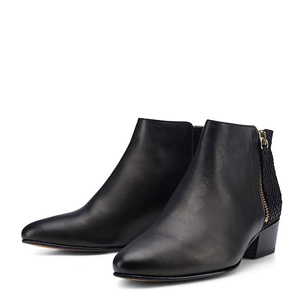 Ankle schilling Boots NINE schwarz FIVE TO 4nwqY7zUHf