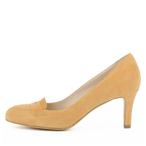 Evita Shoes, BIANCA Qualität Loafer-Pumps, orange  Gute Qualität BIANCA beliebte Schuhe 8ff048