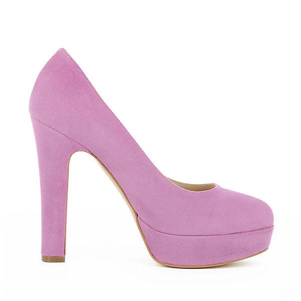 Evita Shoes, Gute RICCARDA Plateau-Pumps, lila  Gute Shoes, Qualität beliebte Schuhe 20348b