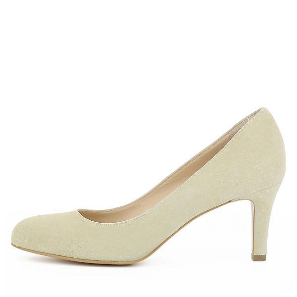 Shoes Klassische Evita beige BIANCA Pumps PWTOOASq
