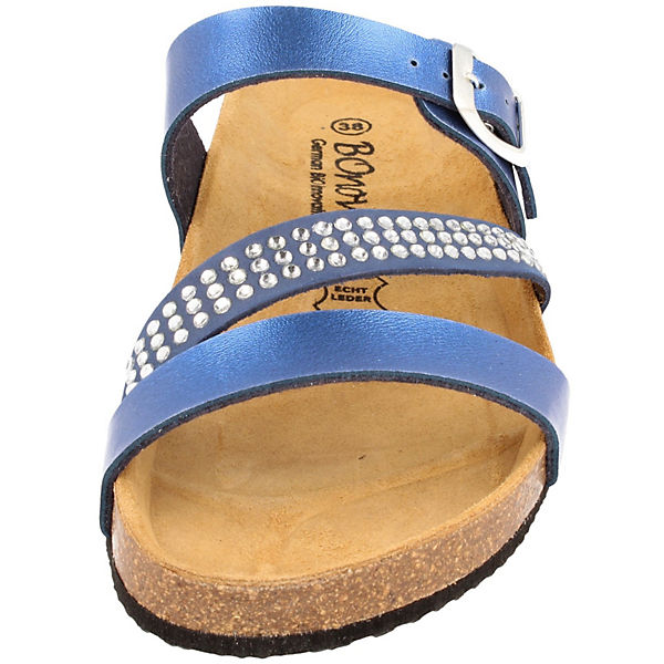 BOnova, Haiger Pantoletten, Qualität blau-kombi  Gute Qualität Pantoletten, beliebte Schuhe 55d59a