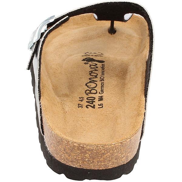 BOnova, Ibiza Zehentrenner, silber/weiß silber/weiß silber/weiß  Gute Qualität beliebte Schuhe 83ee9c