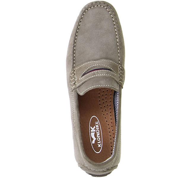 Klondike, Mokassins, grau  beliebte Gute Qualität beliebte  Schuhe aba4a2
