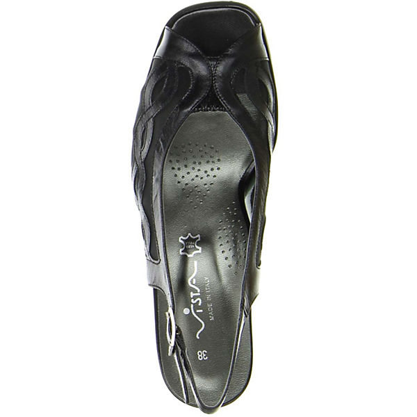 Vista, Sling-Pumps, schwarz Qualität  Gute Qualität schwarz beliebte Schuhe d3b3b3