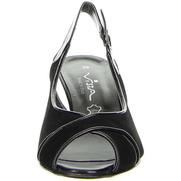Vista,  Sling-Pumps, schwarz  Vista, Gute Qualität beliebte Schuhe d31b3c