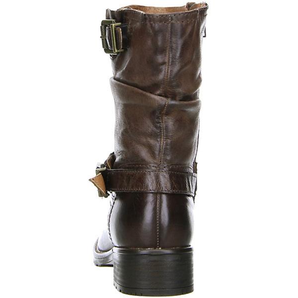 Klondike Biker Boots braun  Gute Qualität beliebte Schuhe