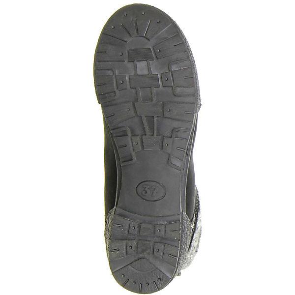 Klondike, Schnürstiefeletten, schwarz Qualität  Gute Qualität schwarz beliebte Schuhe f7f48c