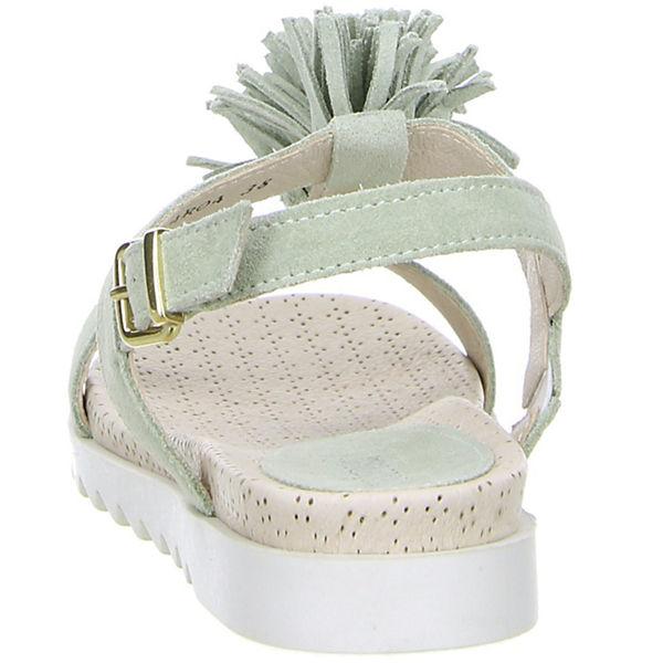 minu, Klassische Sandalen, grün