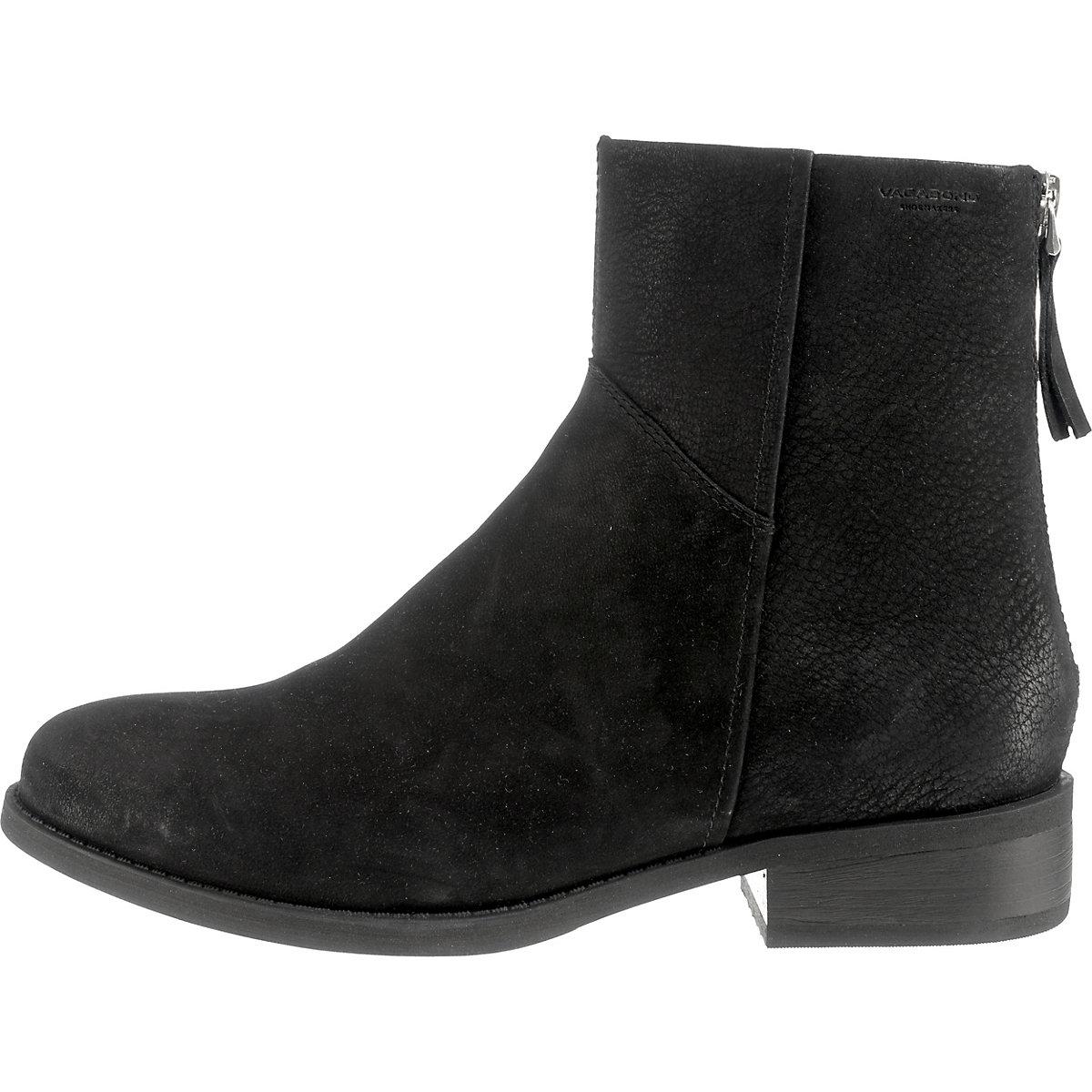 VAGABOND Klassische Stiefeletten schwarz