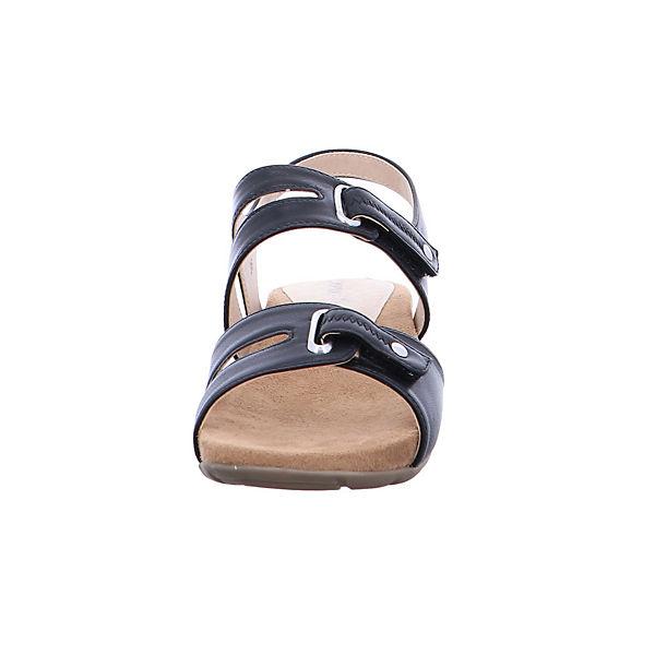 CAPRICE, 28107-022 Klassische Sandalen, schwarz