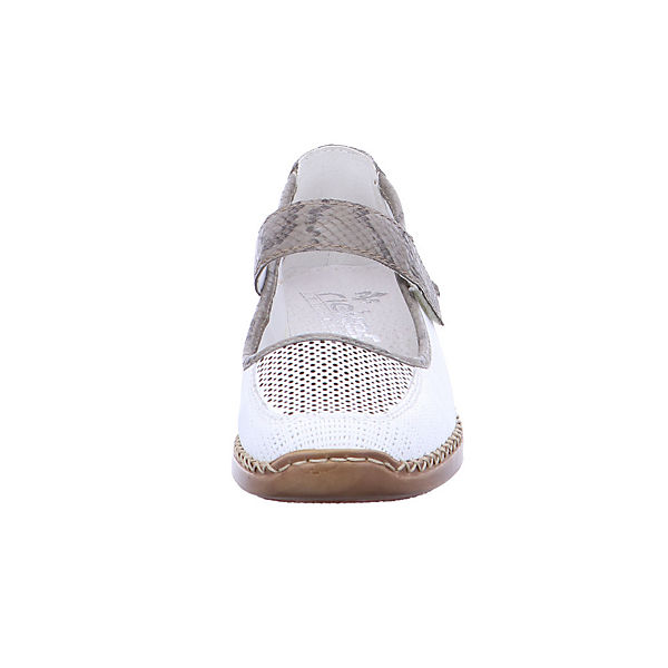 rieker, 41306-80 Komfort-Ballerinas, weiß  Gute Qualität beliebte Schuhe