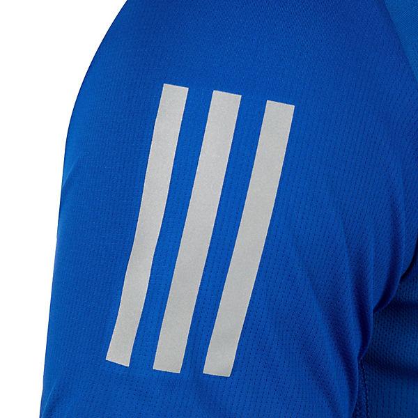 Performance blau Laufshirt Response Herren adidas SqwXxw