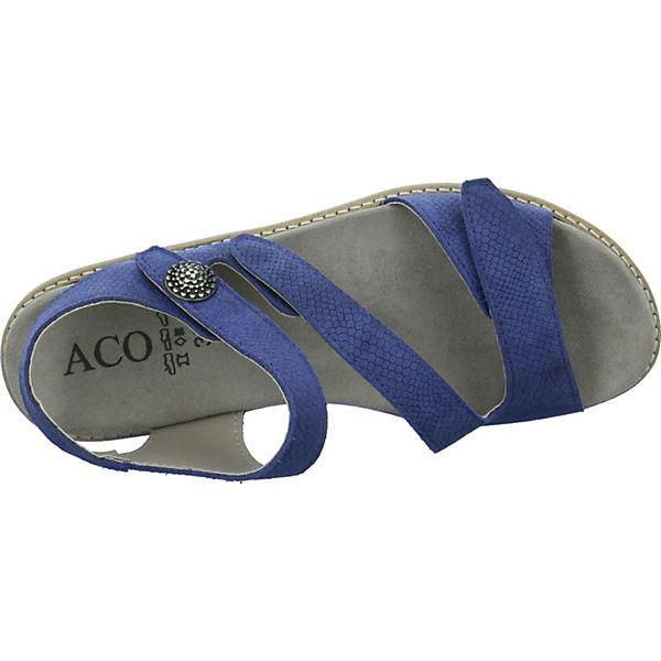 blau Sandalen Klassische Nora 05 Aco gqIft6x