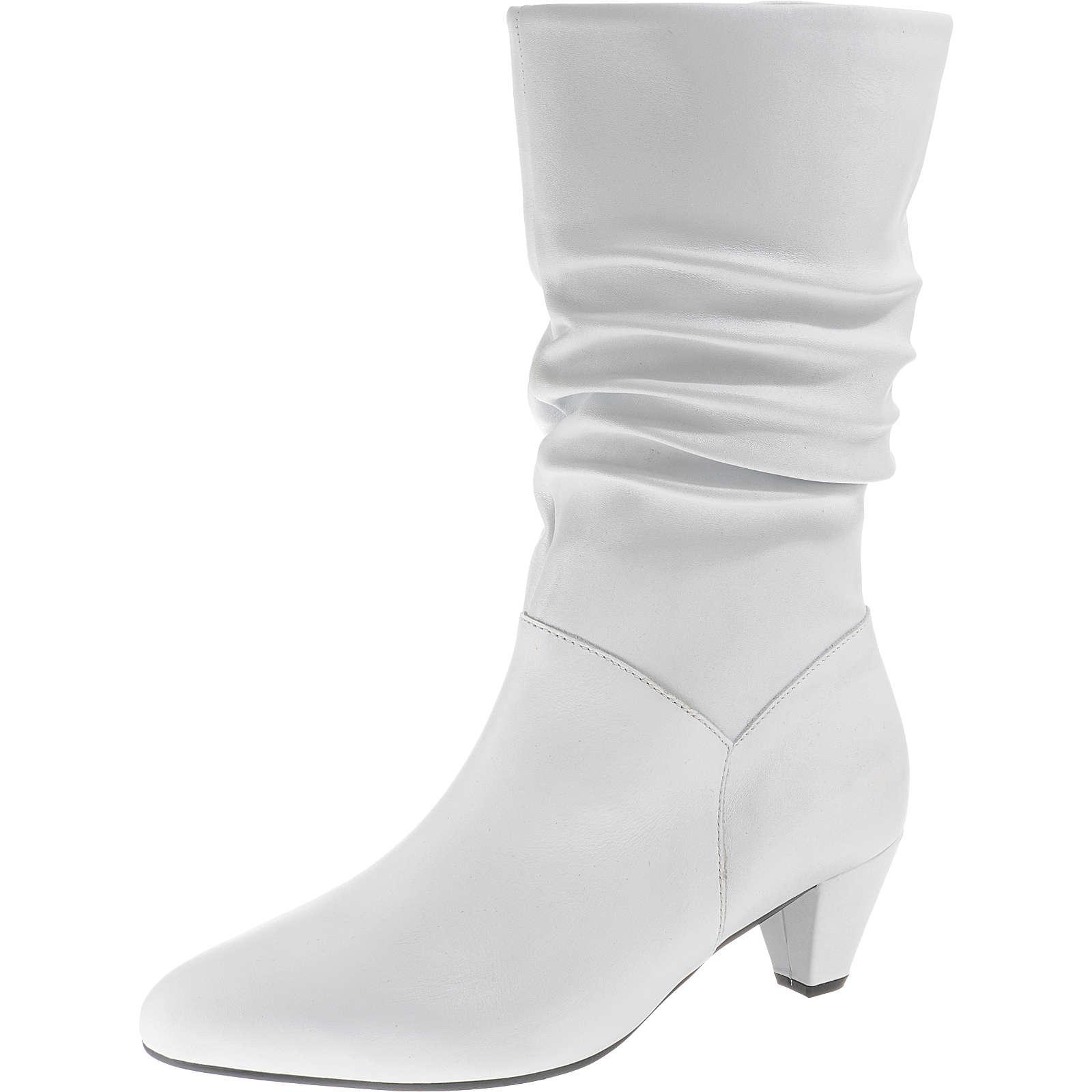 Gabor Klassische Stiefel weiß Damen Gr. 37
