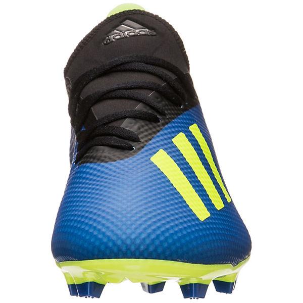 adidas Performance,  adidas X 18.3 FG  Performance, Fußballschuhe, blau/gelb  Gute Qualität beliebte Schuhe e752fe