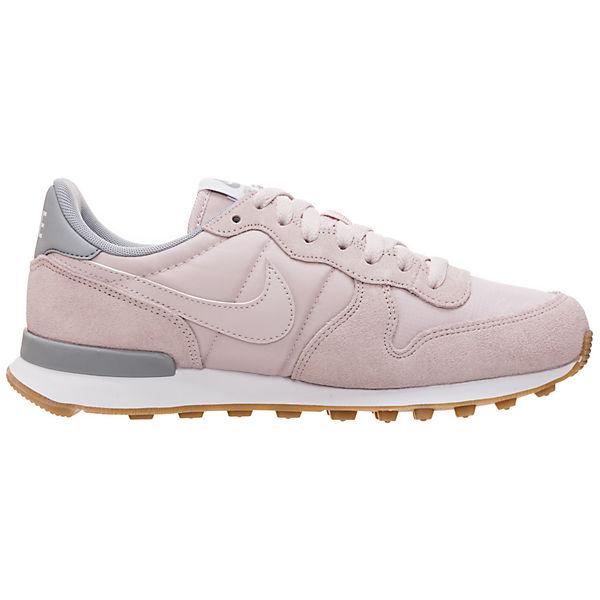 Sportswear rosa Sneakers grau Internationalist Low Nike 1qHdw1