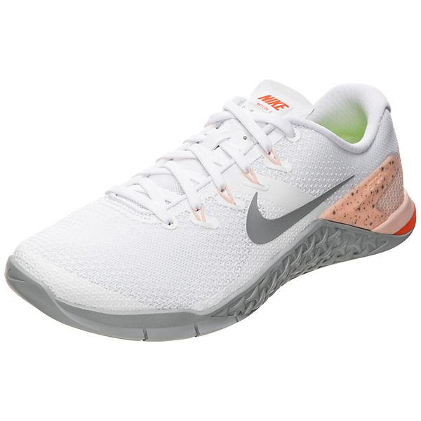 Low Nike 4 Metcon weiß Sneakers Performance xTqSFwAT