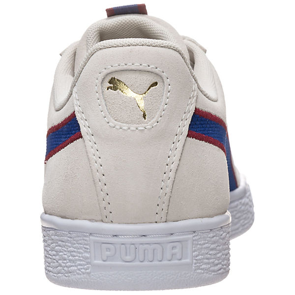 PUMA Suede Classic Sport Stripes  Sneakers Low beige/blau  Gute Qualität beliebte Schuhe