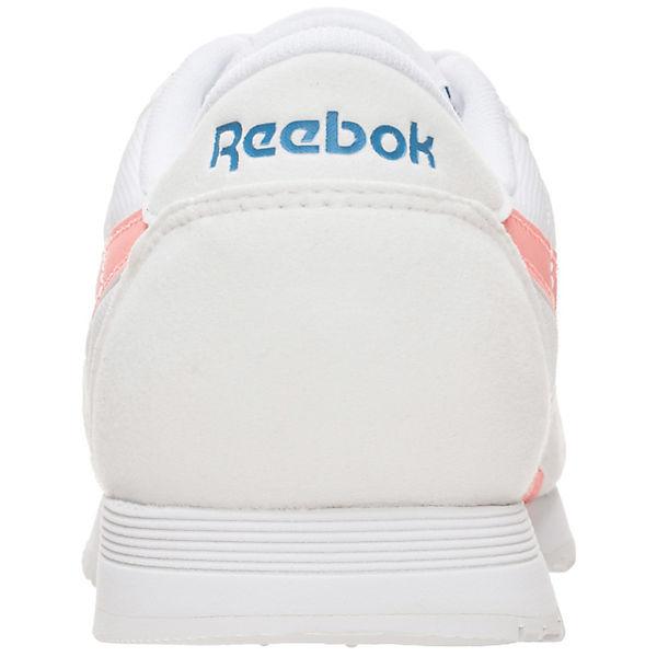 Reebok Classic Reebok Classic Leather Nylon  Sneakers Low weiß  Gute Qualität beliebte Schuhe