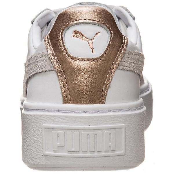 PUMA, Basket Platform Euphoria RG  Sneakers Low, weiß  Gute Qualität beliebte Schuhe