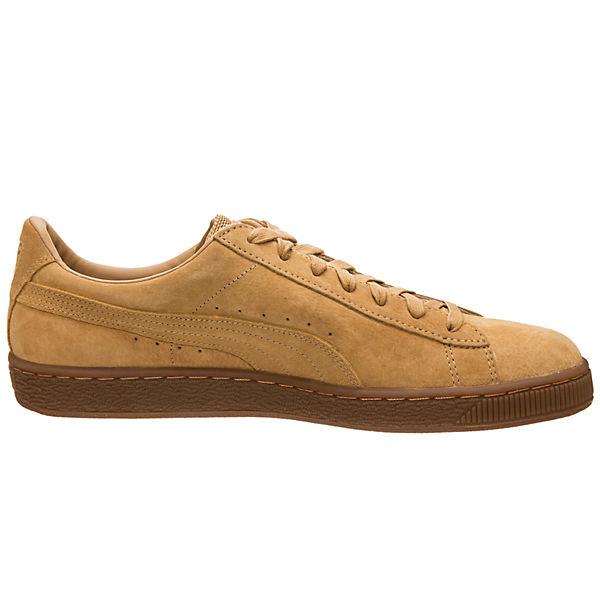 PUMA Gute Basket Classic Weatherproof  Sneakers Low hellbraun  Gute PUMA Qualität beliebte Schuhe 86c928