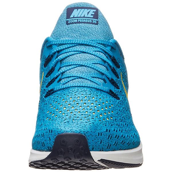 Nike Performance, Air Zoom Pegasus  35  Laufschuhe, türkis/gelb  Pegasus  06ff20