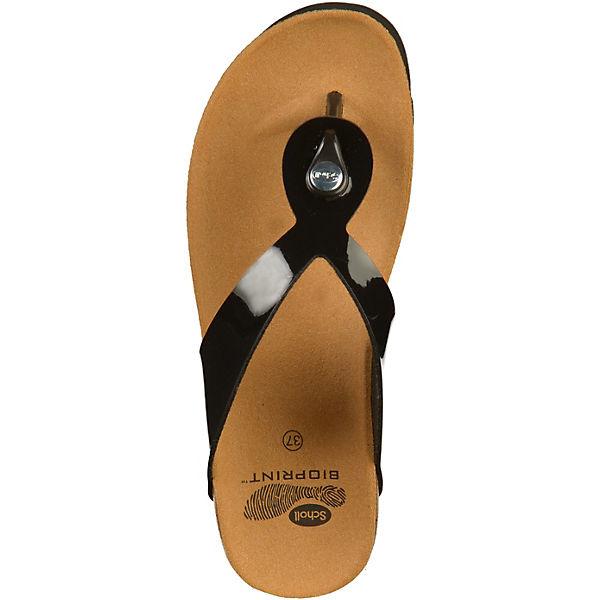 Scholl, Zehentrenner, schwarz Qualität  Gute Qualität schwarz beliebte Schuhe eea58a
