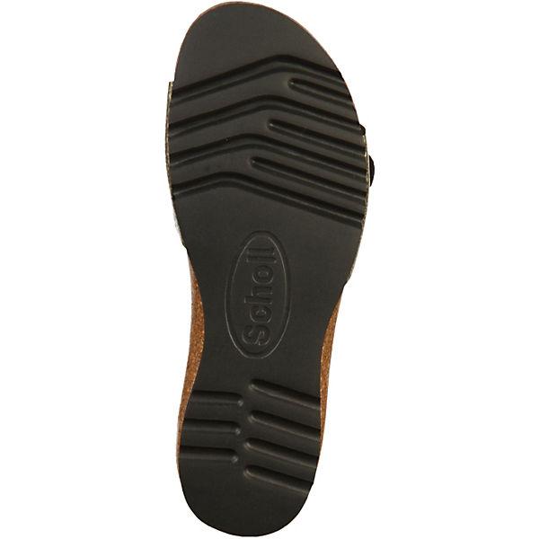 Scholl, Plateau-Pantoletten, beliebte silber  Gute Qualität beliebte Plateau-Pantoletten, Schuhe 79ece9