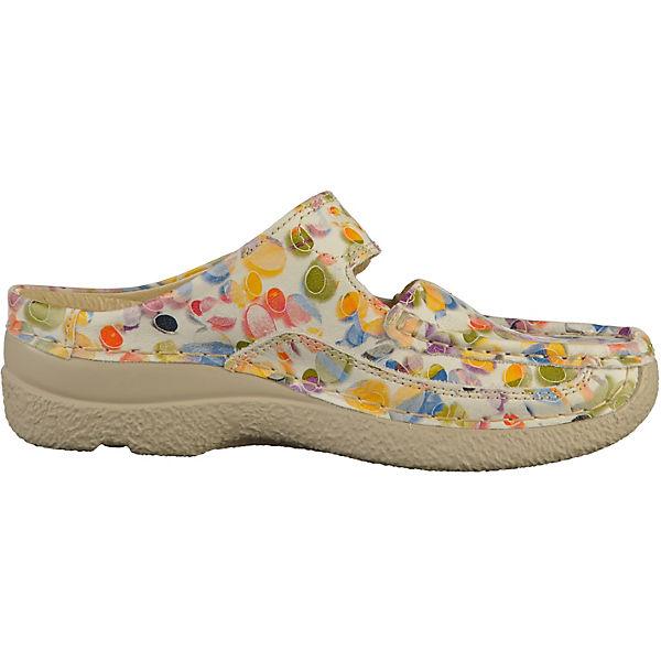 Wolky, Plateau-Pantoletten, weiß  Gute Gute Gute Qualität beliebte Schuhe ba22bf