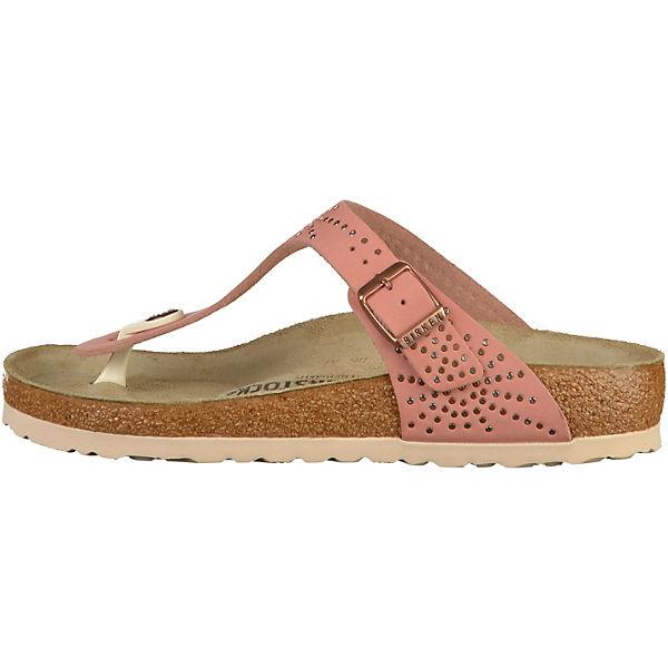 BIRKENSTOCK, Gizeh Qualität Zehentrenner, rosa  Gute Qualität Gizeh beliebte Schuhe d1abef