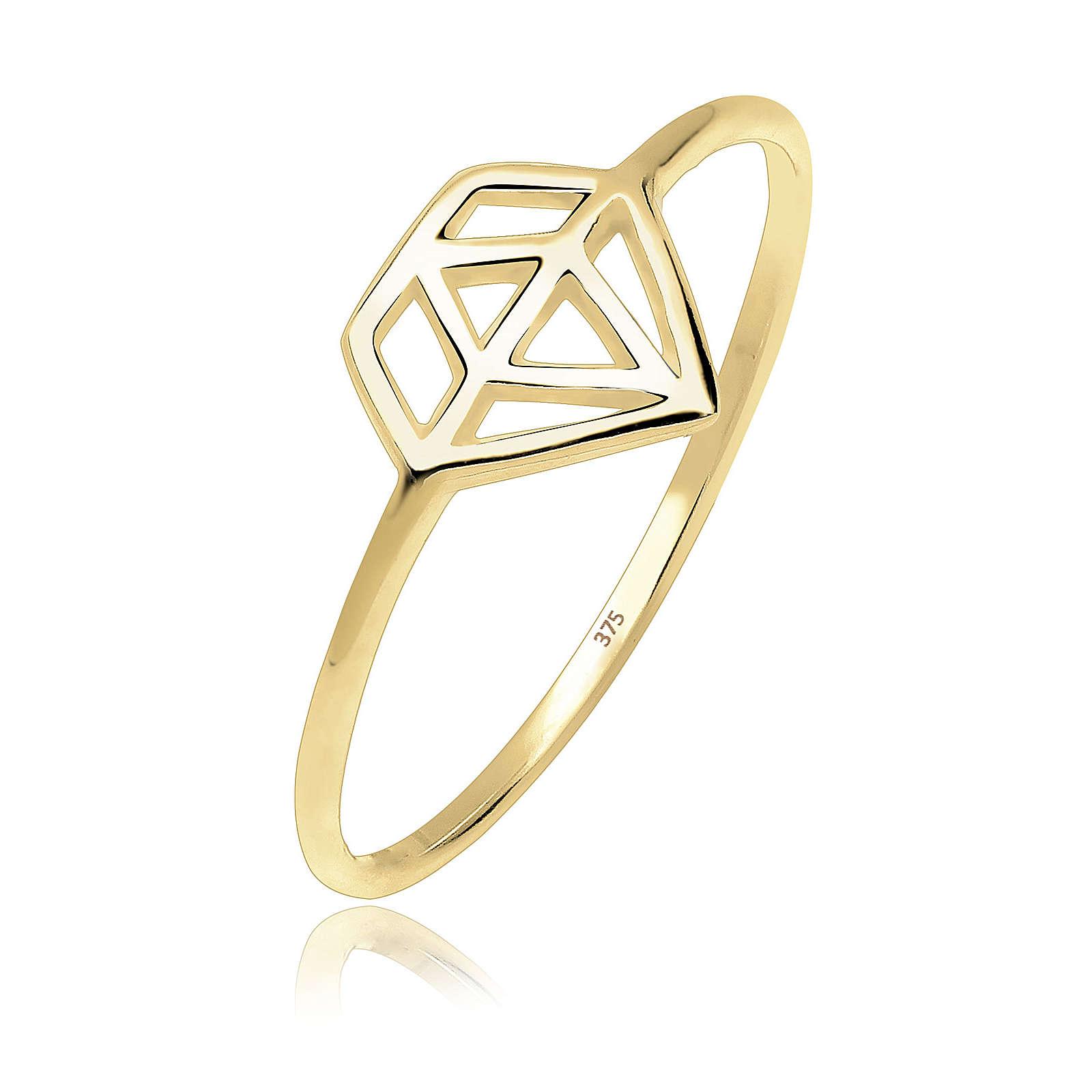 Elli PREMIUM Ring gold Damen Gr. 58