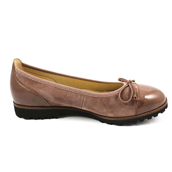 Gabor, Klassische Ballerinas, braun/rot  Schuhe Gute Qualität beliebte Schuhe  4a3c25