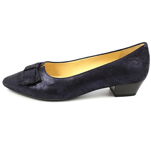 Gabor Klassische Ballerinas Qualität blau  Gute Qualität Ballerinas beliebte Schuhe 6c789e